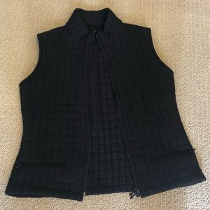 Other - Black quilted vest